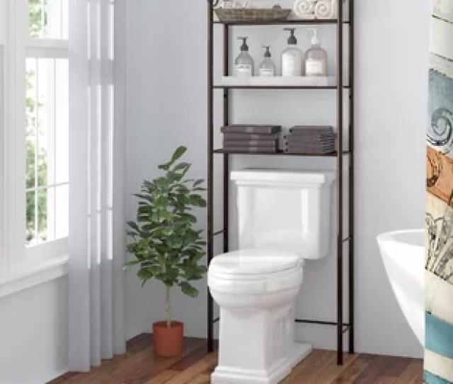 Gracia 24 6 W X 64 9 H Over The Toilet Storage