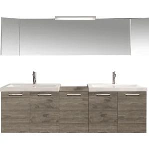 modern floating bathroom vanities   allmodern