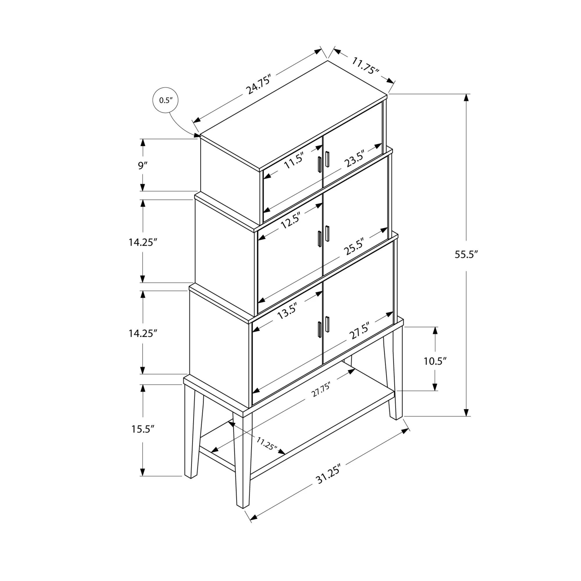 Latitude Run 6 Door Storage Cabinet Amp Reviews