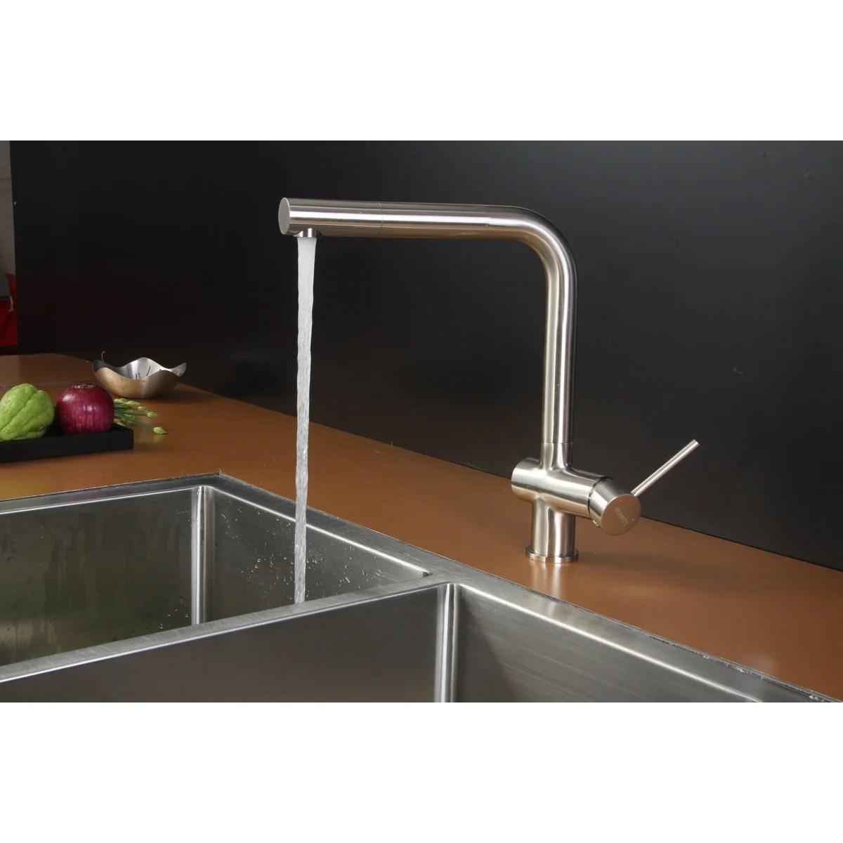 Ruvati 33 X 22 Kitchen Sink With Faucet Wayfair