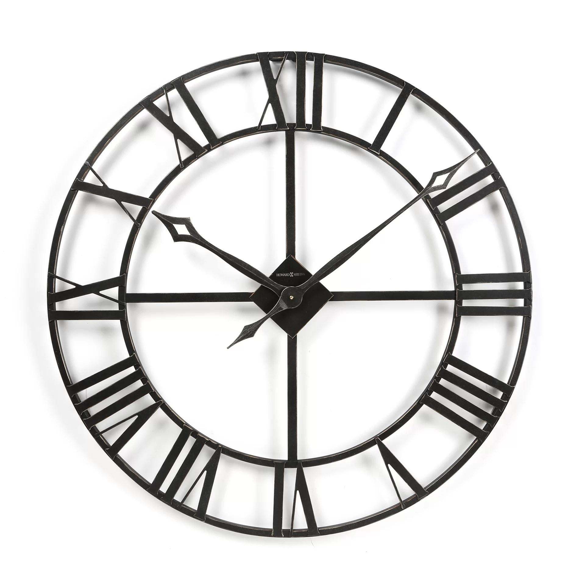 Howard Miller Gallery Oversized 32 Lacy Quartz Wall Clock