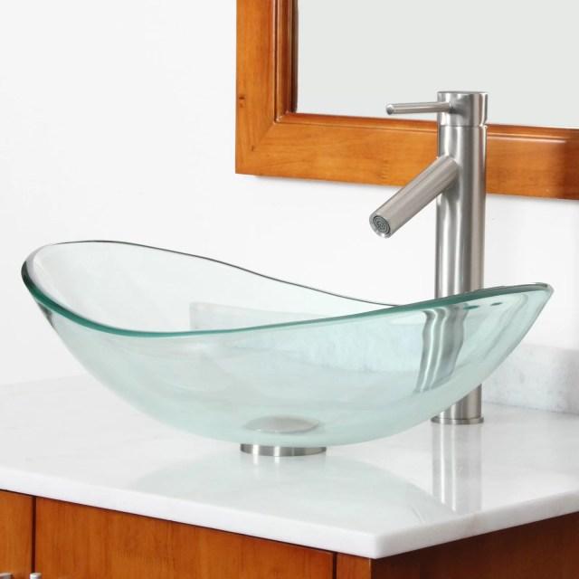 Glass Bathroom Sink dact