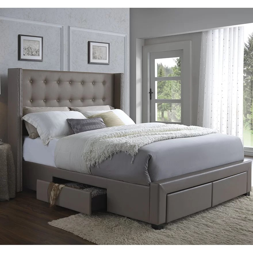 Thousand Oaks Storage Platform Bed Amp Reviews AllModern