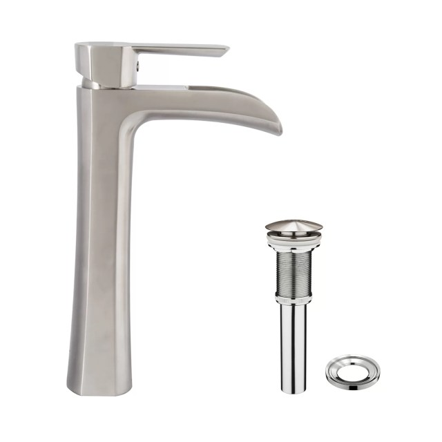 Single Lever Bathroom Faucet jewel faucets j16 bath series single
