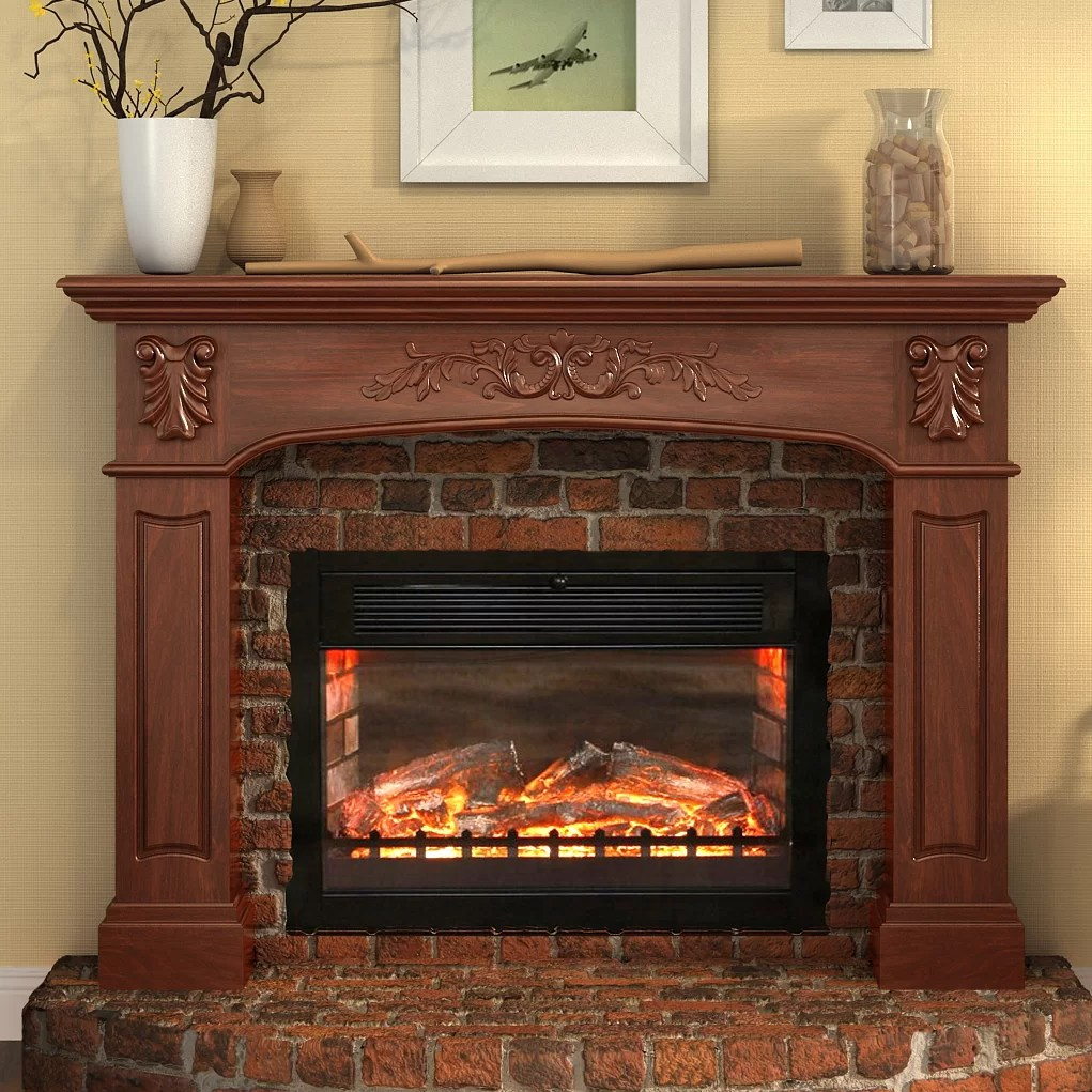 Lanza Oxford Fireplace Surround Mantel Amp Reviews Wayfair