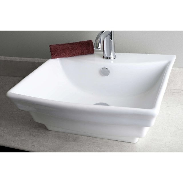 Counter Bathroom Sink contemporary above counter rectangular