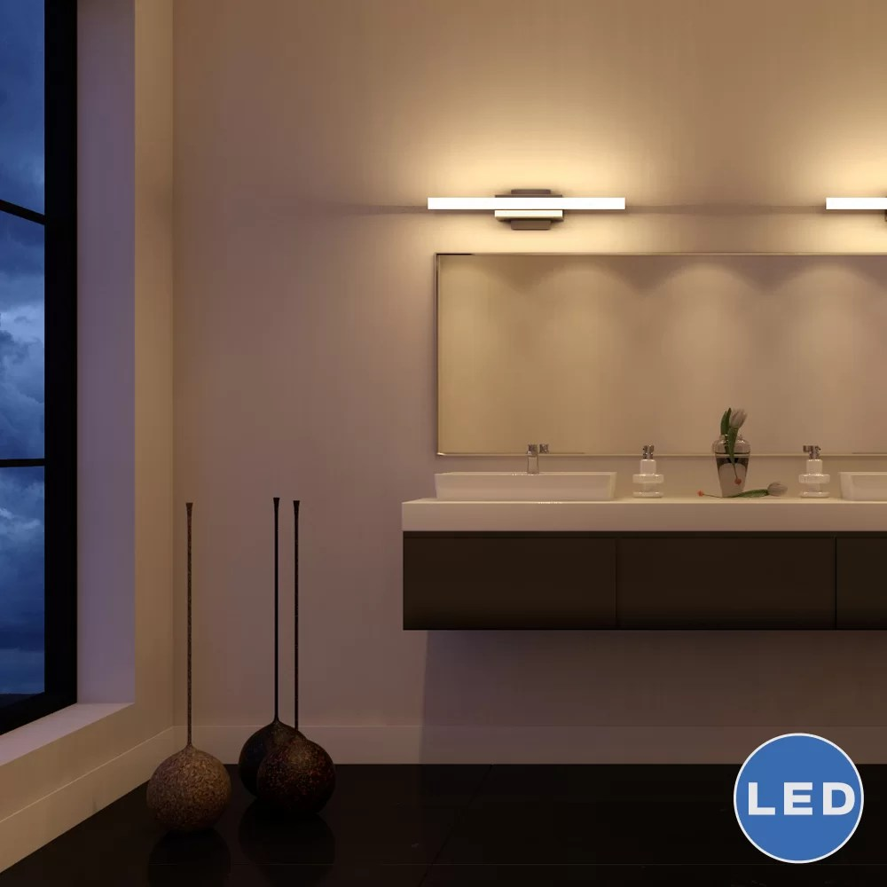 Bathroom Led Light Fixtures