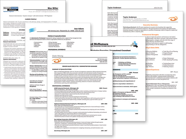 resume building free software
