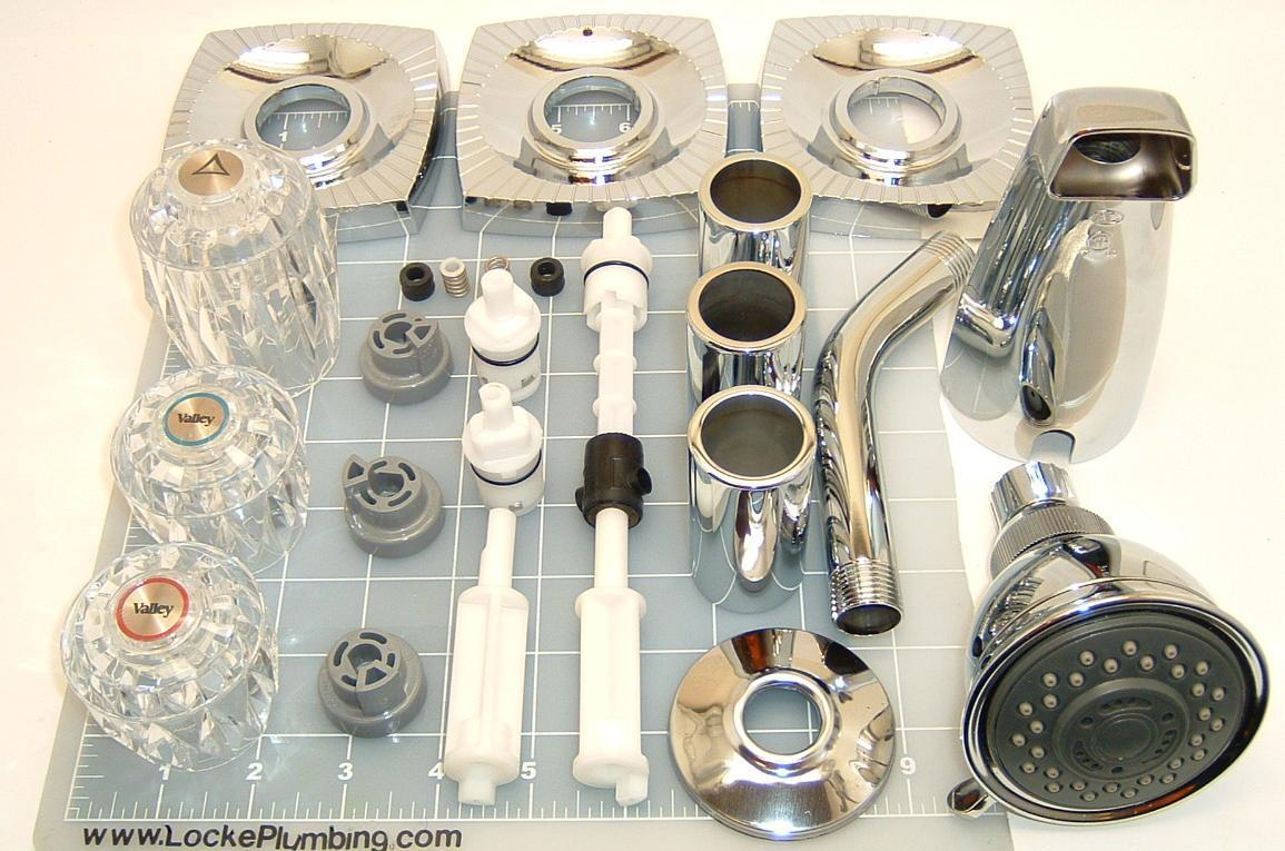 eljer elj 3hcomp three handle tub and