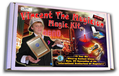 Vincent The Magician Kit ® w/Video Instructions