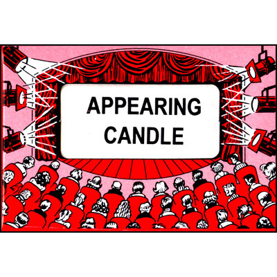 Appearing Candle (Red) Fantasio