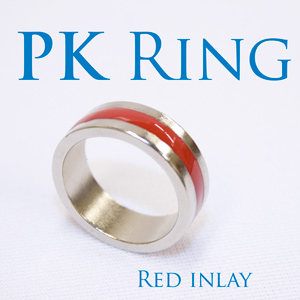 PK Ring - Red Inlay Deluxe