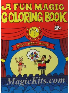 Magic Coloring Book with Blank Book Gimick