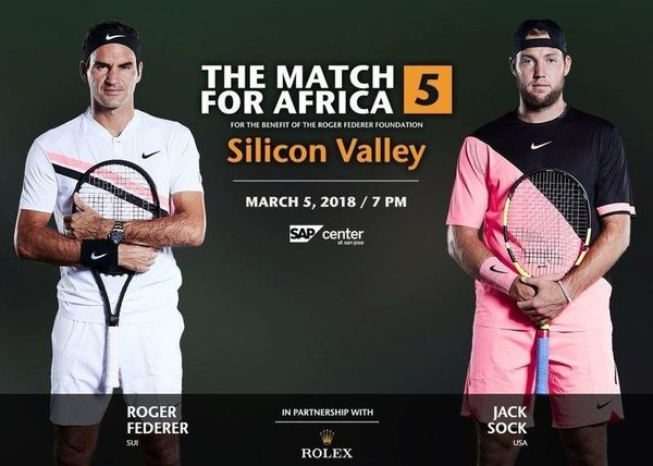 See Federer, Bill Gates, Jack Sock live at SAP center with us ...