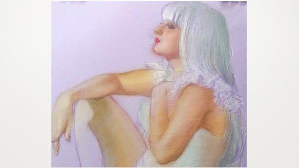Saturday Life Drawing Italian Model 'Pin-Up Girl'   TALデッサン會 イタリア人モデル「ピンナップ」 2/6   Meetup