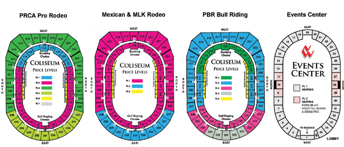 Denver National Western Rodeo Seating Chart