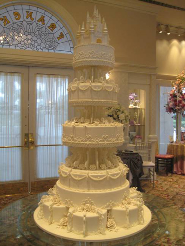 Amazing Cakes Offered at Disney s Fairy Tale Weddings   Disney Parks     Castle Cake