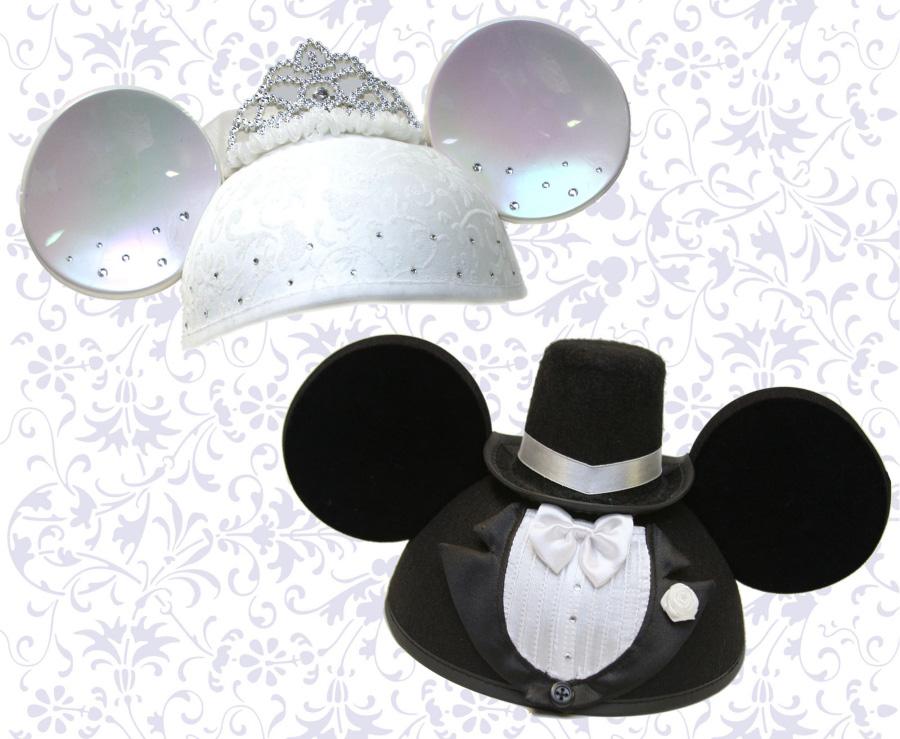 Walt Disney World Bride And Groom Ears