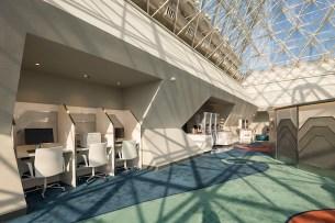 New Disney Vacation Club Member Lounge at Epcot