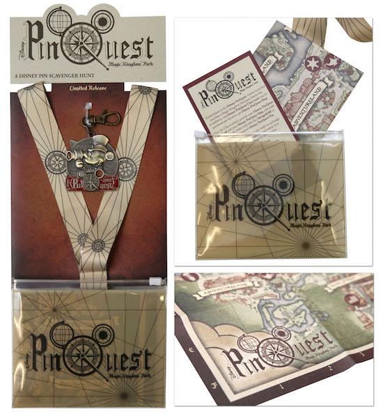 New Disney PinQuest Coming to Magic Kingdom Park