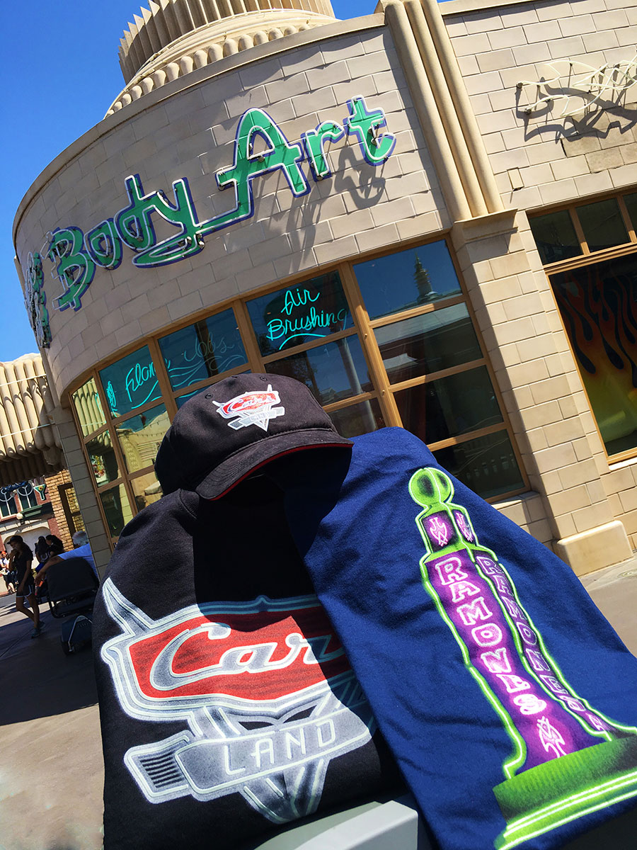 New Merchandise Rolls into Cars Land Stores at Disney California Adventure Park