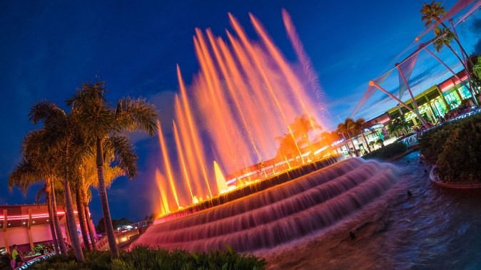 Disney Parks After Dark: Fountain of Nations at Epcot