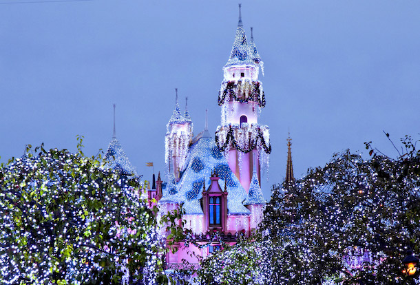 Sleeping Beauty's Winter Castle at Disneyland Park