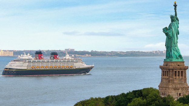 """Disney Magic Says """"See You Real Soon"""" to New York City"""