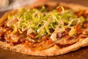 Bacon-Lettuce-Tomato Flatbread from Wind and Waves Grill at Disney's Vero Beach Resort