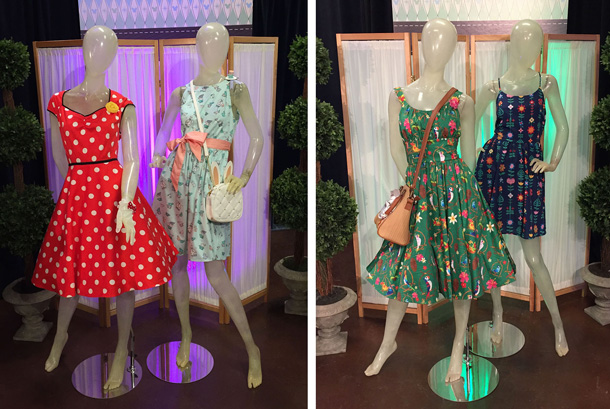 Dress Shop On Cherry Tree Lane, Disney Springs, Walt Disney World, Disneyland, Dresses, Minnie, Alice
