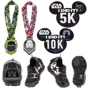 Commemorative Products Revealed for 2017 runDisney Star Wars Half Marathon – The Dark Side