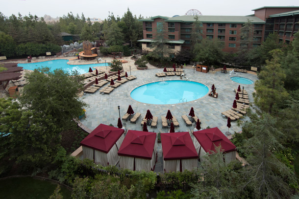 A Closer Look: New Pool Deck at Disney's Grand Californian Hotel & Spa