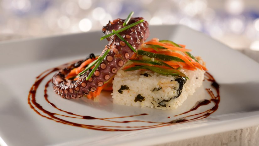 Bright New Additions to Menu at Coral Reef Restaurant at Epcot