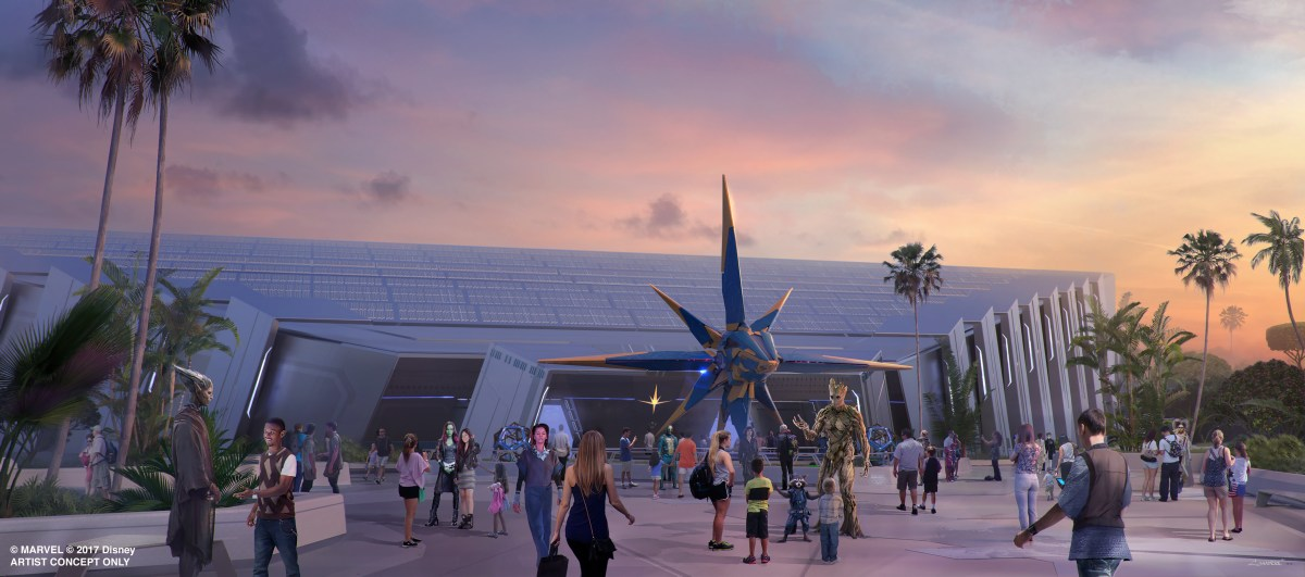 Content owned by Disney - New Guardians of the Galaxy attraction coming to Epcot at Walt Disney World Resort