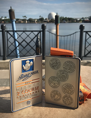 Travel Around the World with the runDisney Wine & Dine Half Marathon Weekend Medals
