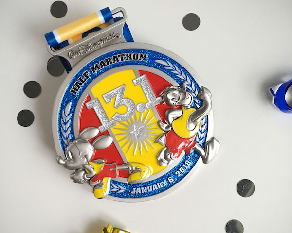 Walt Disney World Marathon Half Marathon Medal