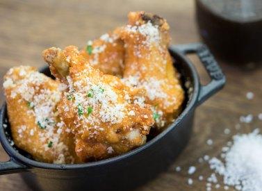 Salt & Beer Vinegar Parmesan Chicken Wings at Disney California Adventure Food & Wine Festival