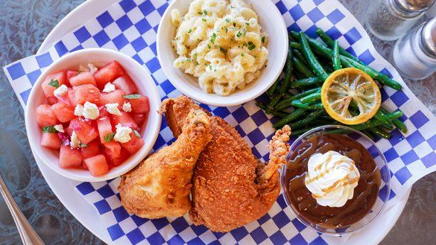 Picnic-inspired meal, Plaza Inn at Disneyland park