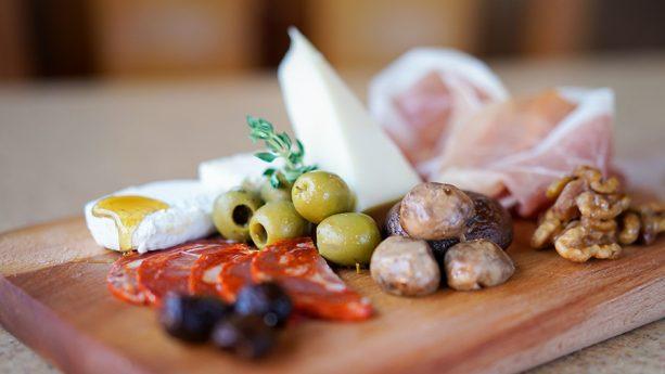 Cheese plate,Wine Country Trattoria, Disney California Adventure park