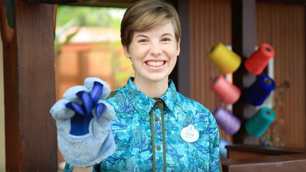Cast Members wear new Animal Kingdom costumes