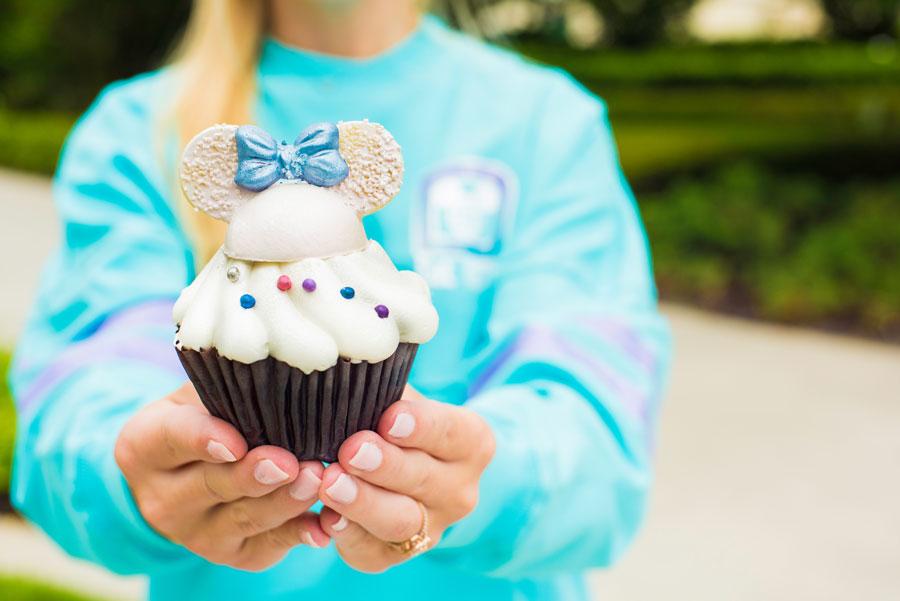Iridescent Cupcake at Contempo Café at Disney's Contemporary Resort