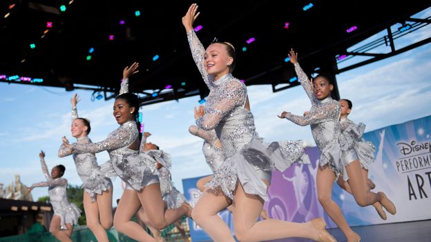 Dancers perform at National Dance Day, Walt Disney World Resort