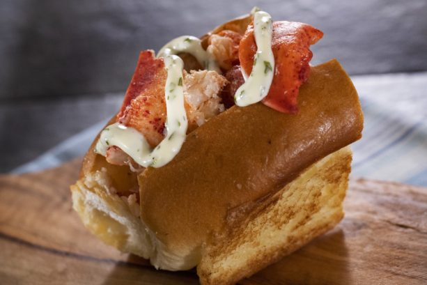 New England Lobster Roll at the Hops & Barely Marketplace for the Epcot International Food & Wine Festival
