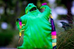 2018 Halloween Oogie Boogie Premium Popcorn Bucket at Disney Parks