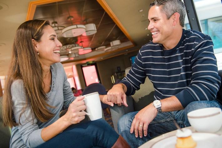 Outlook Café on the Disney Wonder