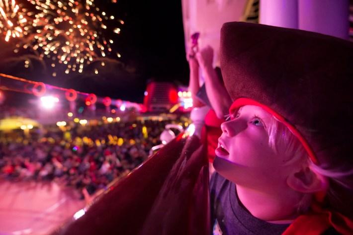 'Buccaneer Blast!' Fireworks at Sea