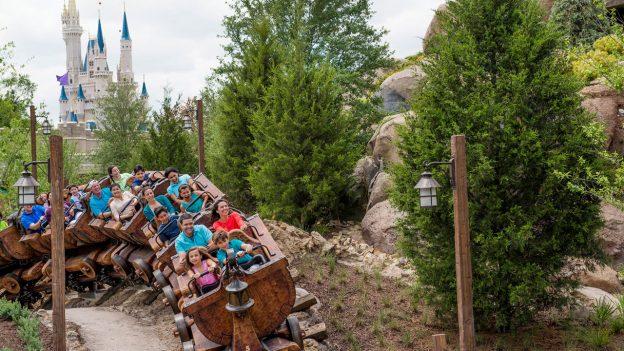 Seven Dwarfs Mine Train at Magic Kingdom Park
