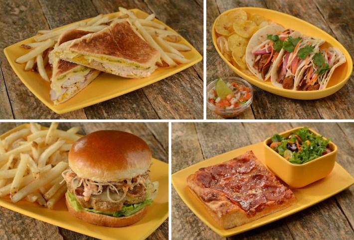Dinner Entrées at Centertown Market at Disney's Caribbean Beach Resort