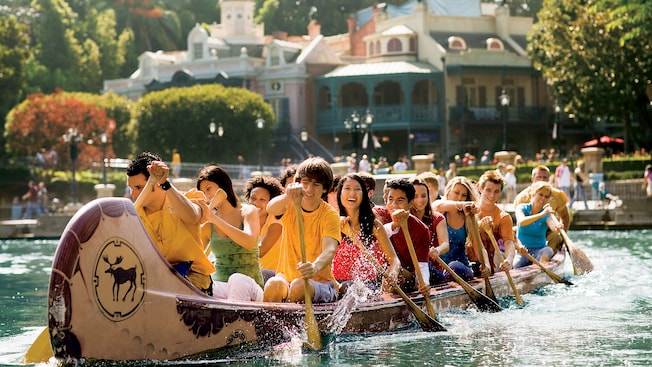 Image result for davy crockett canoes disneyland