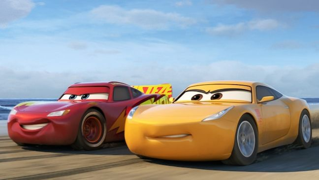Lightning McQueen and Cruz Ramirez